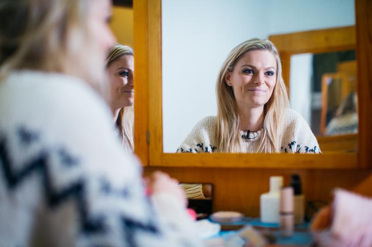 A dunaszerdahelyi származású színésznő lett a Fem3 Café műsorvezetője