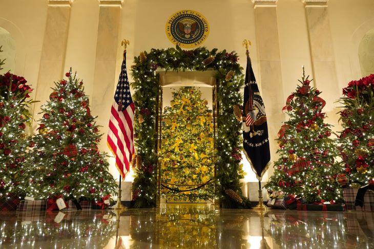 Ily módon ünneplik a karácsonyt a Fehér Házban - FOTÓK+VIDEÓ