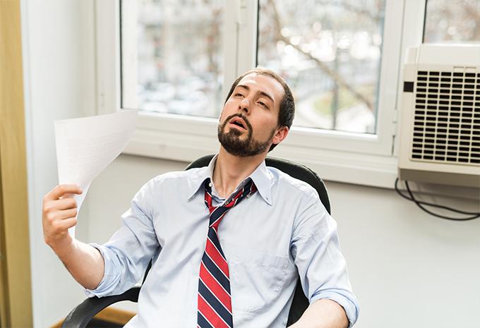 A kánikula stresszt jelent a szervezetnek