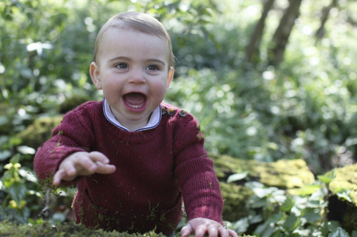 Egyéves lett Lajos herceg - édesanyja cuki fotókat készített róla (FOTÓK)
