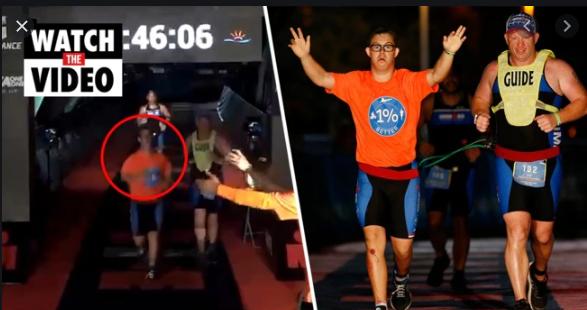 Először teljesítette az Ironmant Down-szindrómás sportoló