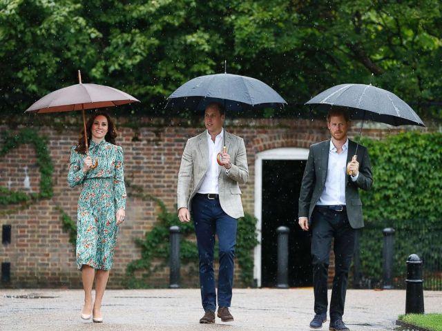 Vilmos és Harry lerótta tiszteletét a Diana emlékére kialakított emlékkertben
