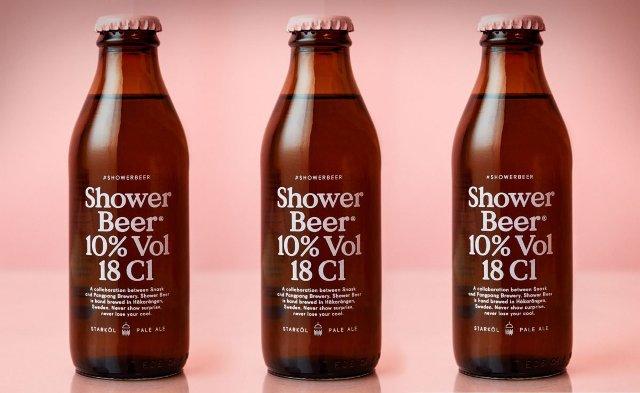 Zuhanysört iszogathatunk tusolás közben