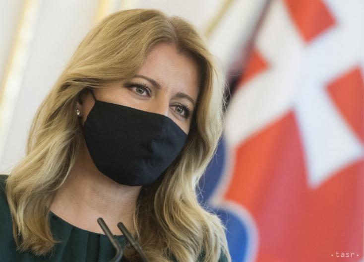 Čaputová szerint a fiatalok viselik a legnehezebben a járvány okozta helyzetet