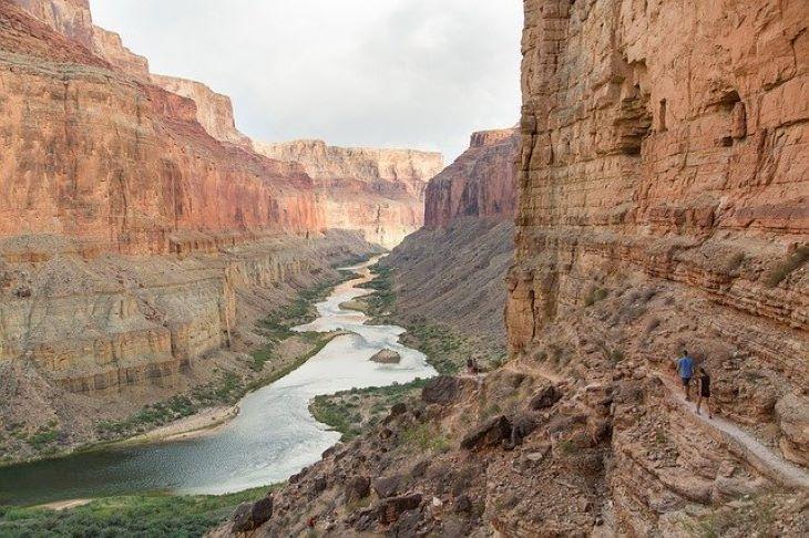 A Grand Canyont is lezárták a látogatók előtt