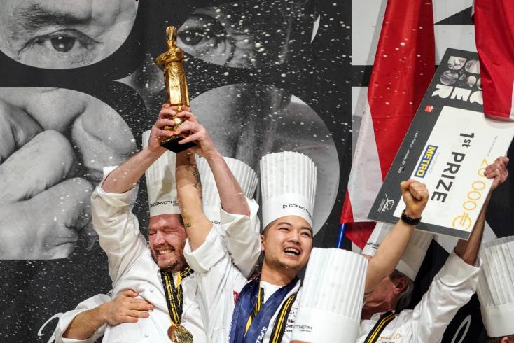 Bocuse d'Or - Dánia nyerte a világversenyt, 12. a magyar csapat!