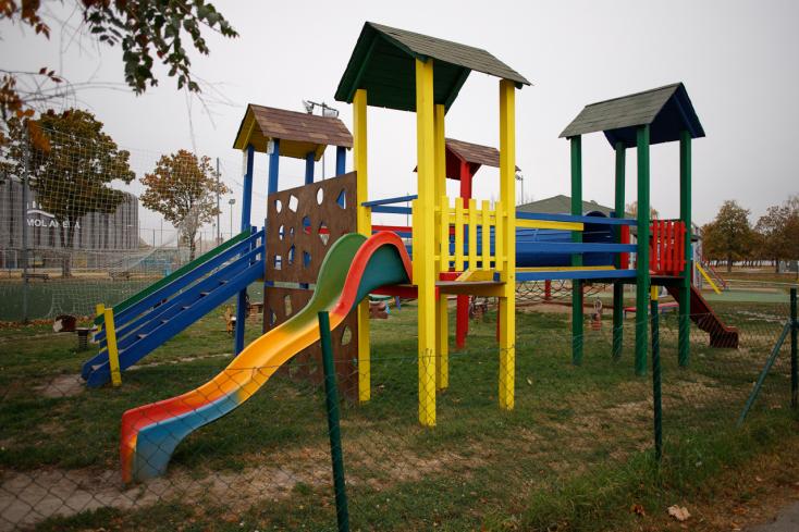 Az erdőtalajjal borított játszótér erősíti a gyerekek immunrendszerét