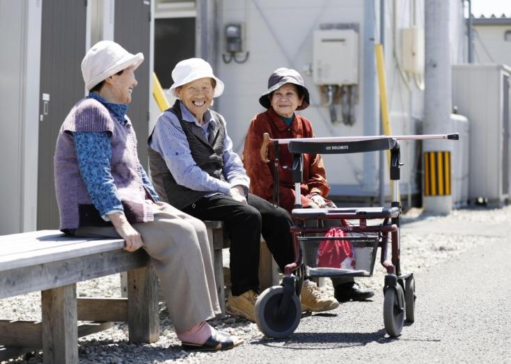 A 70 ezret is meghaladta a százévesek száma Japánban
