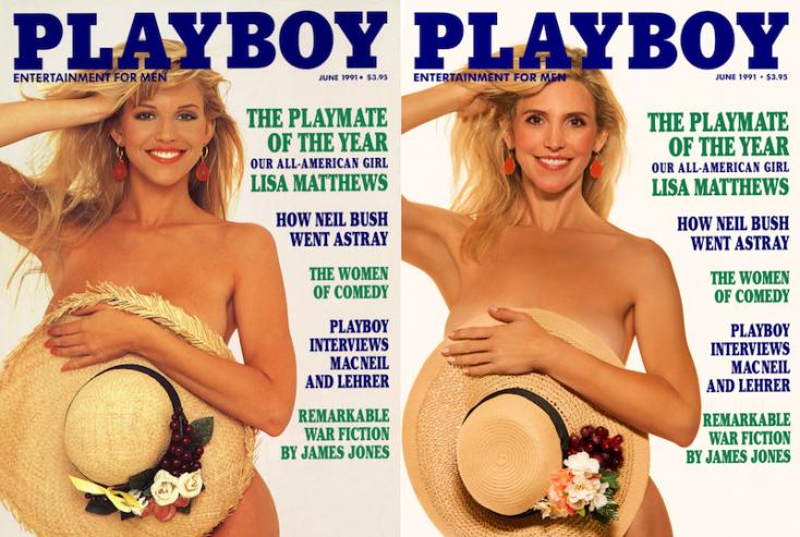 Évtizedek után újrafotózták a legendás Playboy-címlapokat!