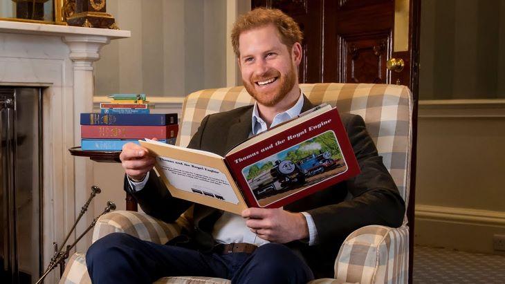 Harry herceggel együtt ünnepel az idén 75 éves Thomas, a gőzmozdony (VIDEÓ)