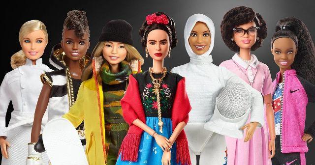 Női példaképeket ábrázóló Barbie-babákat dobtak piacra nőnap alkalmából
