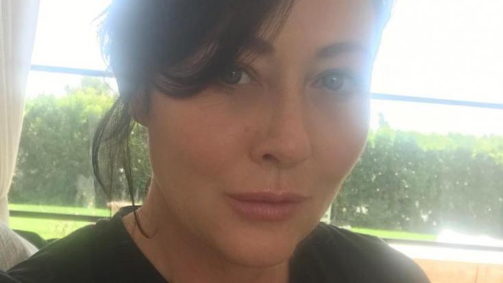 A rákbetegségből kigyógyult Shannen Doherty rossz hírt kapott az orvosaitól