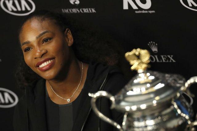 Serena Williams a kislányával szerepelt a Vogue címlapján