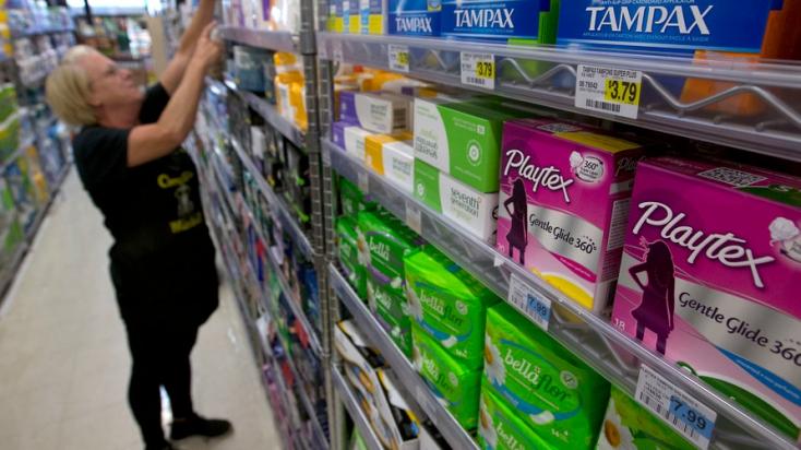 Ingyenesen juthatnak menstruációs higiéniai termékekhez a nők Skóciában